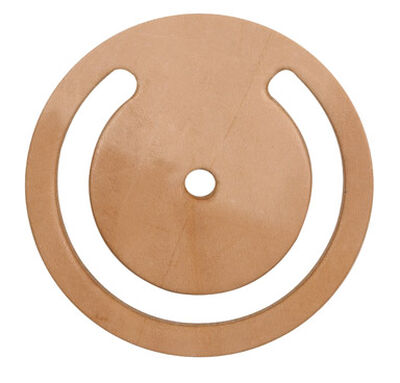 """Campbell 3-1/2"""" ID 4-1/2"""" OD Lower Valve Leather"""