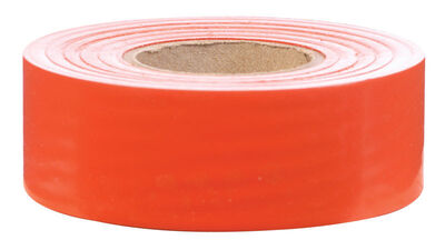 C.H. Hanson Orange Flagging Tape Plastic 300