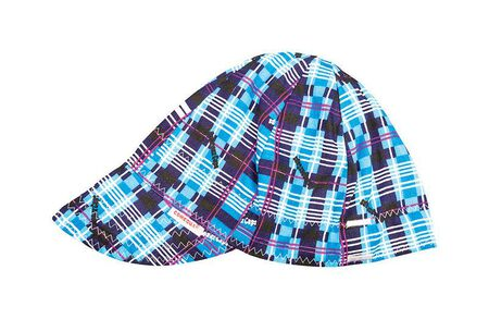Forney Reversible Welding Cap 7-3/8 in. Multicolored