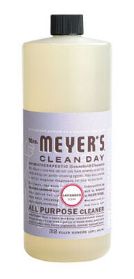 Mrs. Meyer's Clean Day Lavender Scent Multi-Surface Concentrate Cleaner 32 oz. Liquid For Cupboa