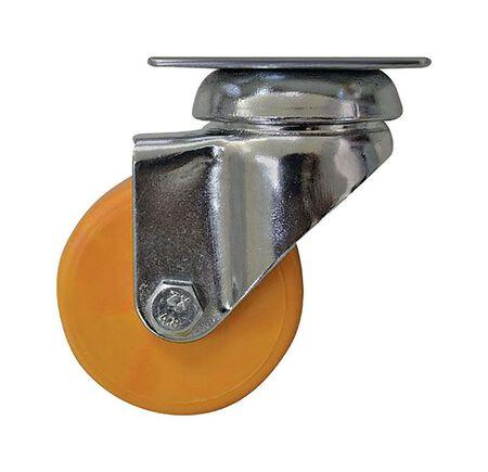 Shepherd Hardware Polypropylene 2 in. Dia. Swivel Caster Yellow 88 lb.