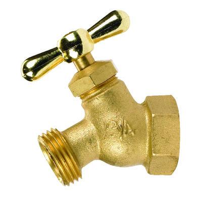B & K Mueller 3/4 in. FIP Dia. x 3/4 in. Dia. Hose Brass 2.5 in. Faucet