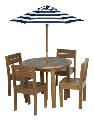 Living Accents Kid's Kid's Patio Set Brown