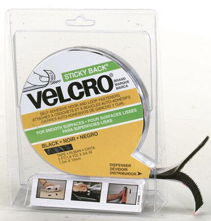 Velcro 5 ft. L x 3/4 in. W Hook and Loop Fastener 1 pk