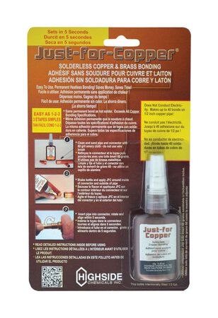Just For Copper 10 gm Copper Bonding For Permanent Cold Weld For Installing And Repairing Rigid Co