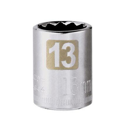 Craftsman 13 Alloy Steel 3/8 in. Drive in. drive Standard Socket