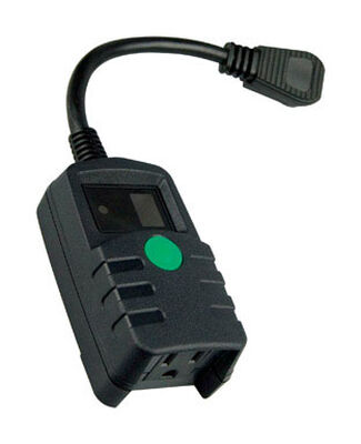 Coleman Cable Outdoor Photocell Timer 15 amps 125 volts Black