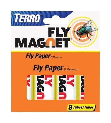 Terro Fly Magnet Fly Paper 8 pk