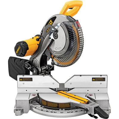 """12"""" (305mm) Double-Bevel Compound Miter Saw"""