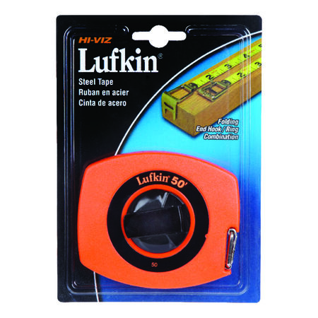 Lufkin Tape Rule 3/8 in. W x 50 ft. L