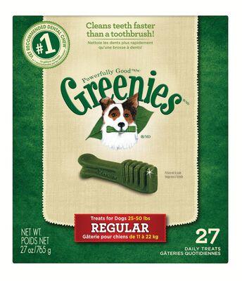 Greenies Medium Adult Dog Treats 27 oz. 27 pk