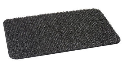 Clean Machine Gray Astroturf Nonslip Doormat 29-1/2 in. L x 17-1/2 in. W