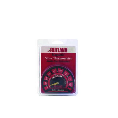 Rutland Stove Metal Thermometer