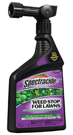 Spectracide Weed Stop 4% Atrazine 3 720 sq. ft. Spray Post-Emergent 11.38 in.x5.56 in.x2.75 in. 32