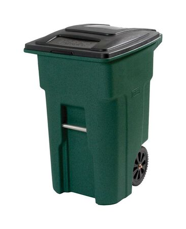 Toter 48 gal. Plastic Garbage Can