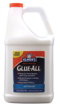 Elmer's Glue-All High Strength Polyvinyl acetate homopolymer All Purpose Adhesive 1 gal.