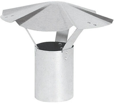 Imperial Manufacturing 8 in. Dia. Galvanized Steel Chimney Rain Cap