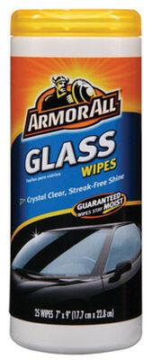 Armor All 25 pk Streak Free Glass Wipes