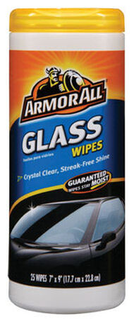 Armor All 25 pk Streak Free Glass Wipes