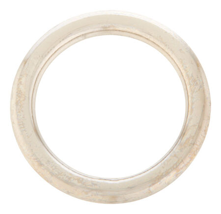 Campbell Chain Nickel Steel Welded Ring Silver 200 lb. 1 in. L 1 pk