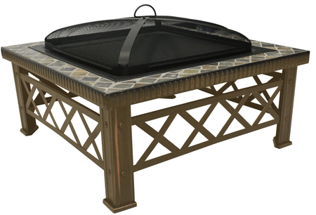 Natural Slate Fire Pit
