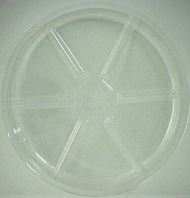 Gardener's Blue Ribbon Clear Resin Plant Saucer 8 in. H x 8 in. W