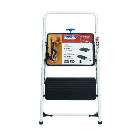Cosco 200 lb. Steel Folding Two Step Stool