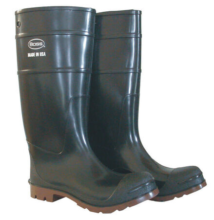 Boss Steel Shank Boots Black/Brown