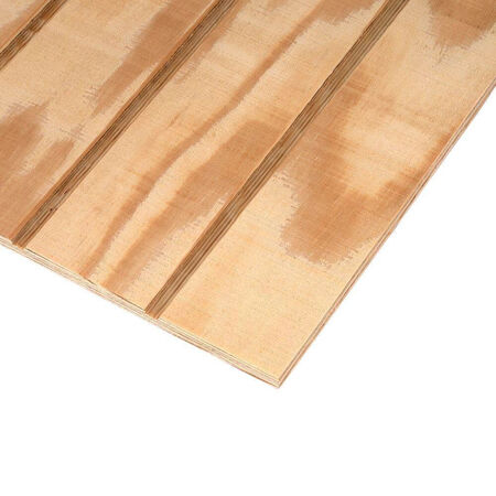 Siding Pine 4x8x3/8 T1-11 4OC