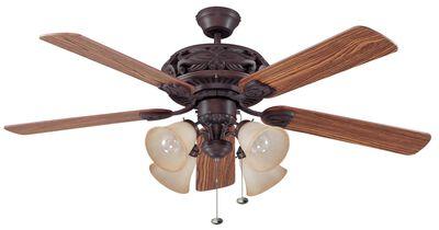 Ellington Ceiling Fan 52 in Aged Bronze