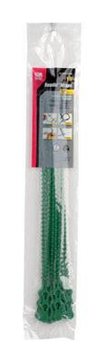 Gardner Bender Beadle Wrap 12 in. L Green Beaded Cable Tie 15 pk