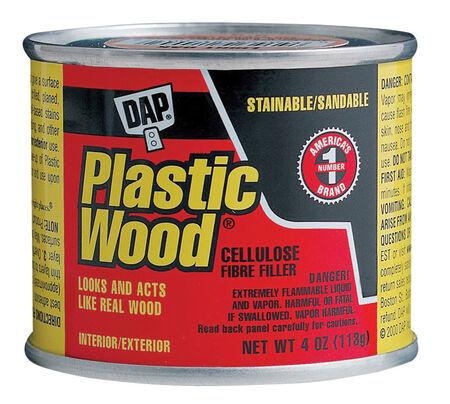 DAP Plastic Wood Natural Wood Filler 4 oz.