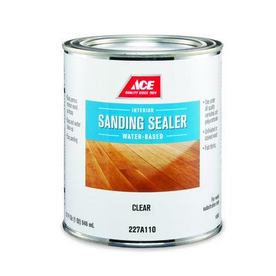 Ace Latex Sanding Sealer Clear 1 qt.