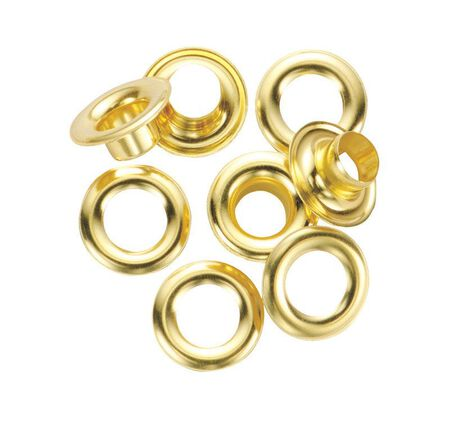 General Tools Grommet Refill 1/4 in. Solid Brass