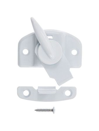 Ace White Brass Draw Tight Sash Lock White 1
