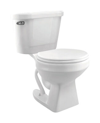 Cato Jazmin Round Complete Toilet 1.3 gal. White