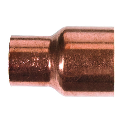 Elkhart 1 in. Dia. x 3/4 in. Dia. Sweat To Sweat To Coupling Copper Reducing Coupling
