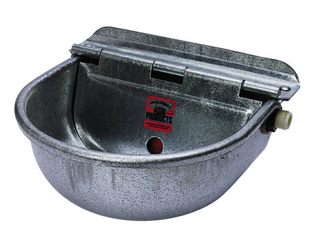 Miller Watering Bowl For Livestock 5-1/2 in. H x 4-3/8 in. D