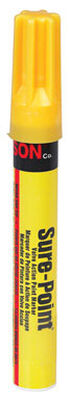 C.H. Hanson Sure-Point Yellow Valve Tip Paint Marker 1 pk