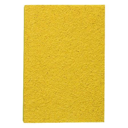3M Aluminum Oxide Sanding Sponge 4 in. W x 2-3/4 in. L Fine 180 Grit