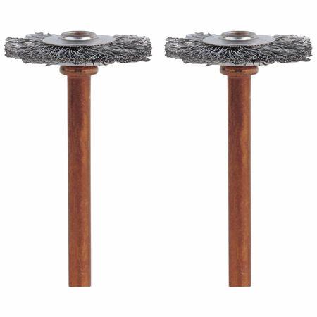 Dremel Stainless Steel Brush 3/4 in. 2 pk