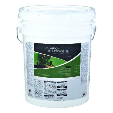 Ace Clark+Kensington Satin Ultra White Base Acrylic Latex Paint and Primer Indoor 5 gal.
