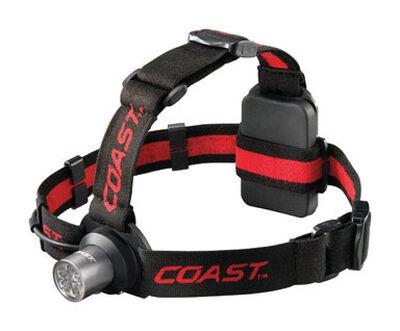 Coast HL5 175 lumens Headlight LED AAA Black
