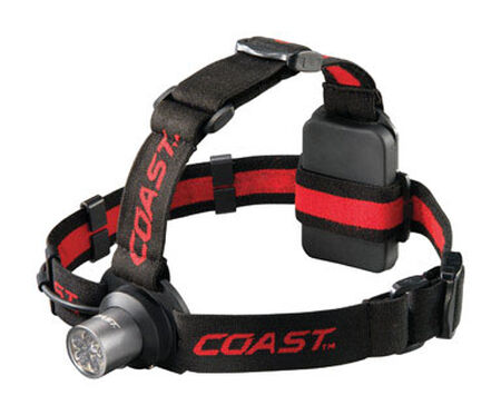 Coast HL5 175 lumens Headlight LED AAA Black