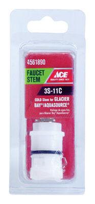 Ace Low Lead Cold 3S-11H Faucet Stem For Glacier Bay & Aquasource