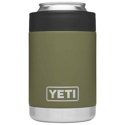 YETI Rambler Colster 12 oz. Can Insulator Olive Green