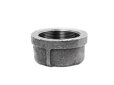 B & K 1-1/2 in. Dia. FPT Galvanized Malleable Iron Cap