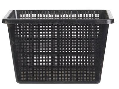 Beckett Plastic Plant Basket 10 in. W x 10 in. L