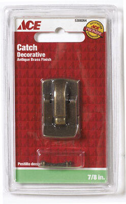 Ace Antique Brass Decorative Catch 1 pk