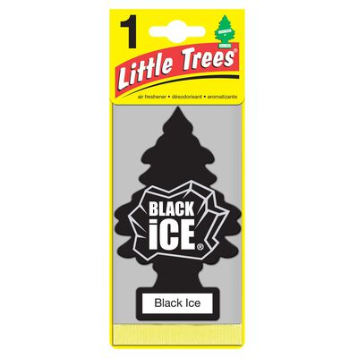 Little Trees Car Air Freshener Black Ice 1 pk
